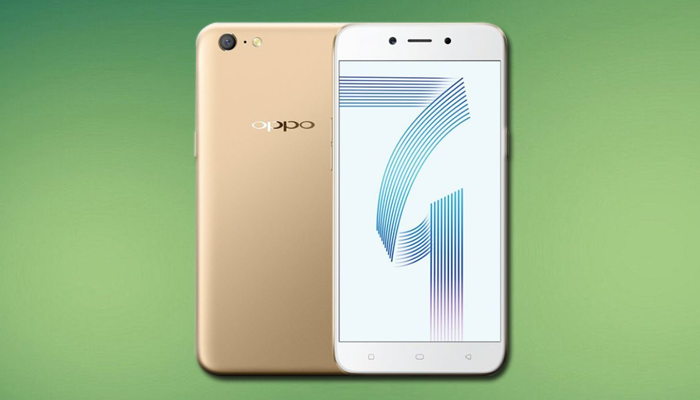 Flashing Oppo A71