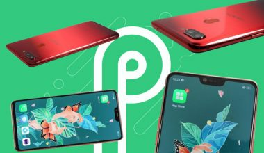 Android P Oppo R15 Pro