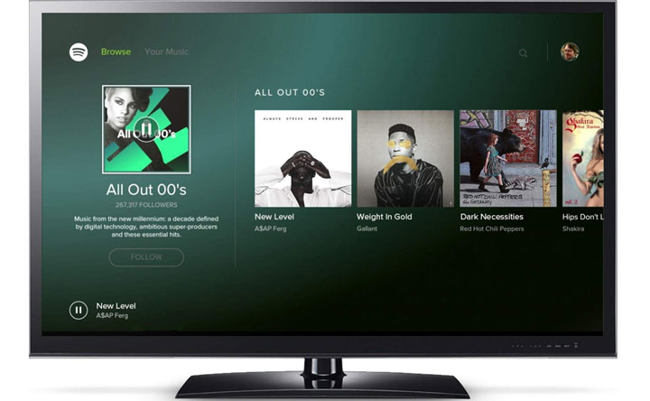Spotify-tv-android